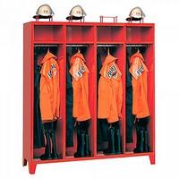 Kleiderspind für Feuerwehr u. Rettungsdienste