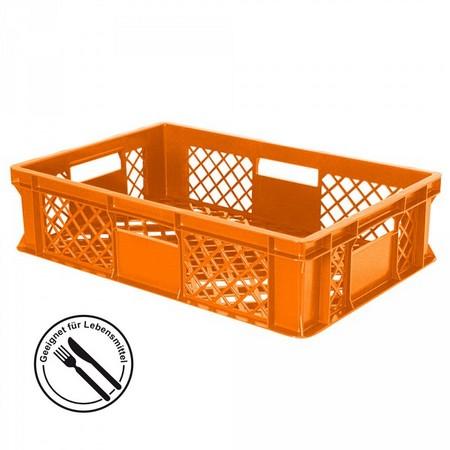 Bäckerkiste aus PE-D, 27 Liter Inhalt, Farbe: orange