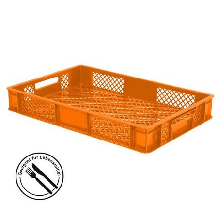 Bäckerkiste 600 x 400 x 90 mm, 15 Liter, orange