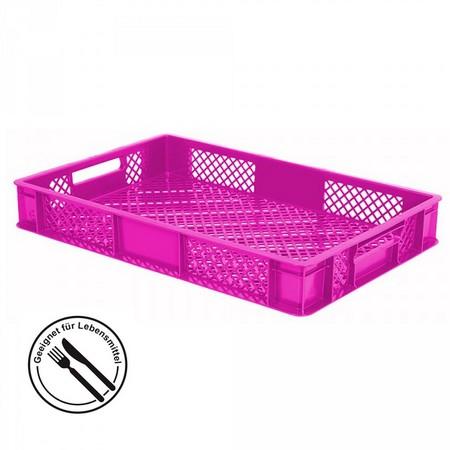 Bäckerkiste aus PE-D, 15 Liter Inhalt, Farbe: violett
