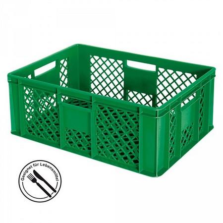Gemüsekiste 600 x 400 x 240 mm, 43 Liter, grün