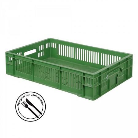 Gemüsekiste 600 x 400 x 140 mm, 26 Liter, grün