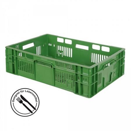 Gemüsekiste 600 x 400 x 170 mm, 32 Liter, grün