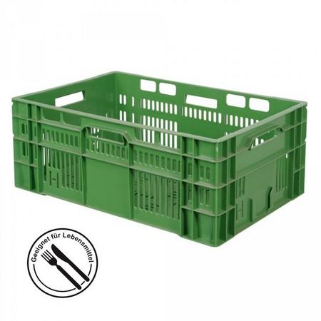 Gemüsekiste 600 x 400 x 240 mm, 46 Liter, grün