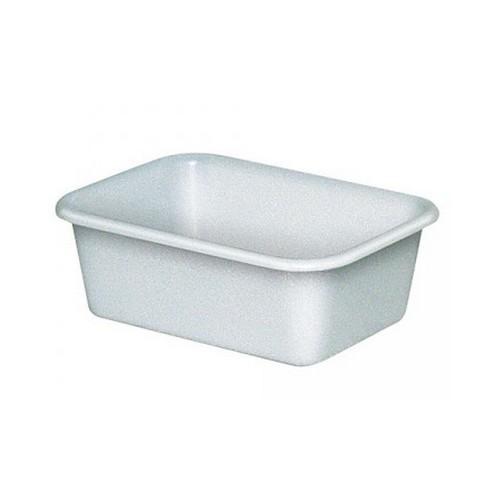 Lebensmittelwanne PE-HD Kunststoff, weiß, 12 Liter
