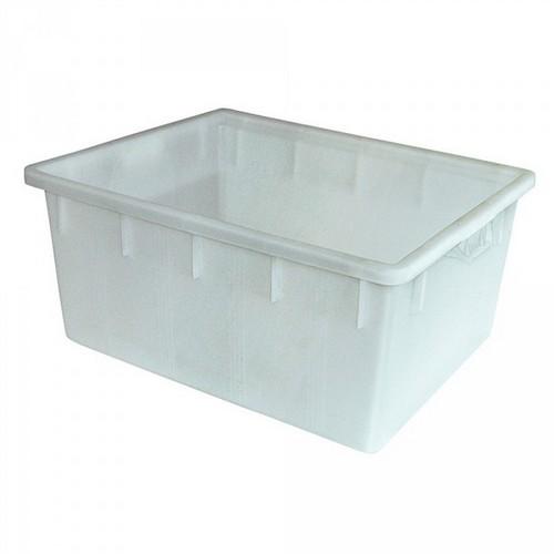 Lebensmittelwanne PE-HD Kunststoff, weiß, 145 Liter