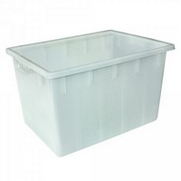 Lebensmittelwanne PE-HD Kunststoff, weiß, 170 Liter