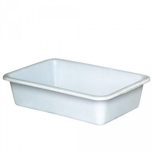 Lebensmittelwanne PE-HD Kunststoff, weiß, 40 Liter