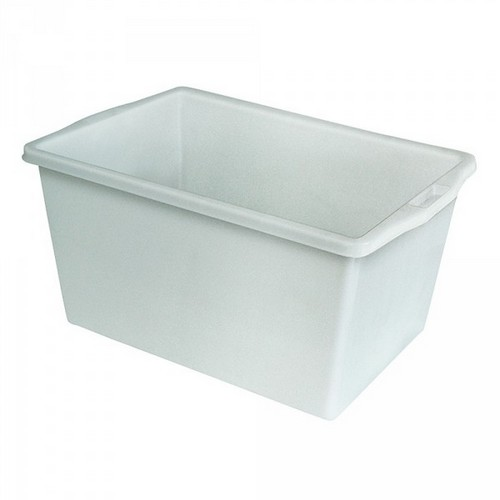 Lebensmittelwanne PE-HD Kunststoff, weiß, 60 Liter