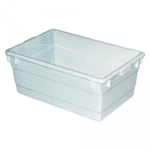 Lebensmittelwanne PE-HD Kunststoff, weiß, 80 Liter