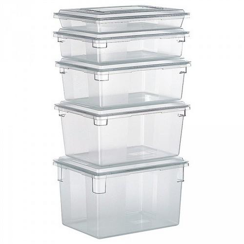 Rubbermaid Frische-Behälter FG330400CLR / transparenter Lebensmittelbehälter, 19 Liter