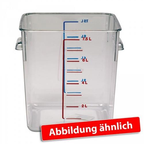 Rubbermaid Frische-Behälter 1927789 / transparenter Lebensmittelbehälter, 12 Liter, LxBxH 290 x 265 x 195 mm, Polycarbonat