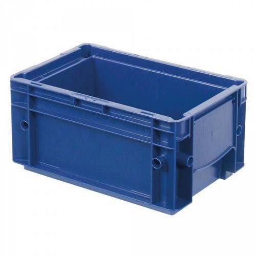 VDA R-KLT 3215 LxBxH 300x200x147,5 mm Euro-Stapelbehälter, Boden und Wände geschlossen, blau