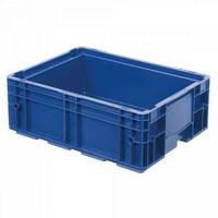 VDA R-KLT 4315 LxBxH 400 x 300 x 147 mm, Euro-Stapelbehälter, Boden und Wände geschlossen, blau