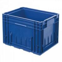 VDA R-KLT 4329 LxBxH 400 x 300 x 280 mm, Euro-Stapelbehälter, Boden und Wände geschlossen, blau