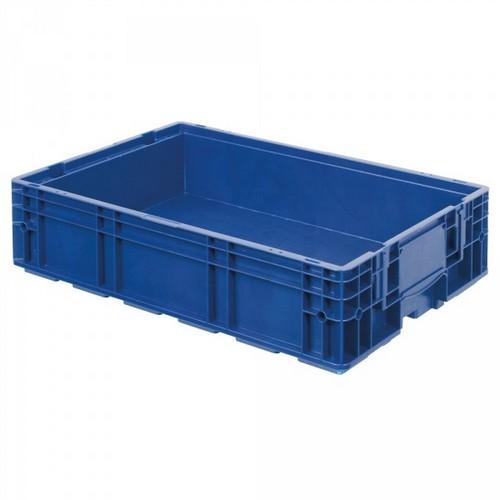 VDA R-KLT 6415 LxBxH 600 x 400 x 147 mm, Euro-Stapelbehälter, Boden und Wände geschlossen, blau