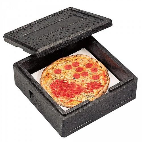 EPP Thermobox Gr. 4 Maxi, mit Deckel, anthrazit, LxBxH 600 x 600 x 230 mm, Inhalt 48 Liter
