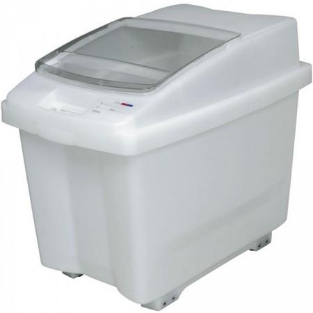 100 Liter Container für Zutaten, mit transparentem Deckel, fahrbar
