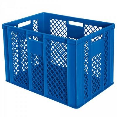 Bäckerkörbe aus Kunststoff, LxBxH 600 x 400 x 240 mm, 83 Liter, blau