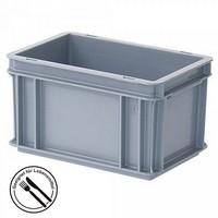 Eurobehälter 300 x 200 x 170 mm, 7 Liter, grau, lebensmittelecht