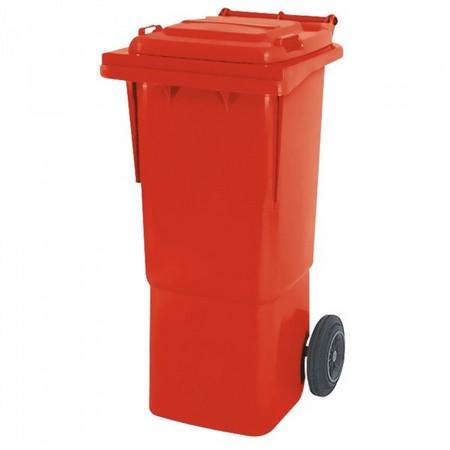 Großmülltonne / Wertstofftonne, Inhalt: 60 Liter, rot