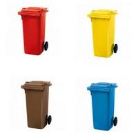Kunststoff Mülltonnen 120 Liter / Übersicht