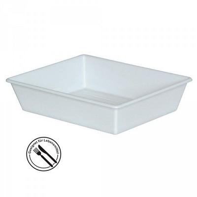 Kunststoffwanne LxBxH LxBxH 305/250 x 245/195 x 65 mm, 1,1 Liter, weiß