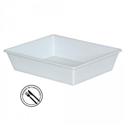 Kunststoffwanne LxBxH LxBxH 365/310 x 305/250 x 75 mm, 2,4 Liter, weiß