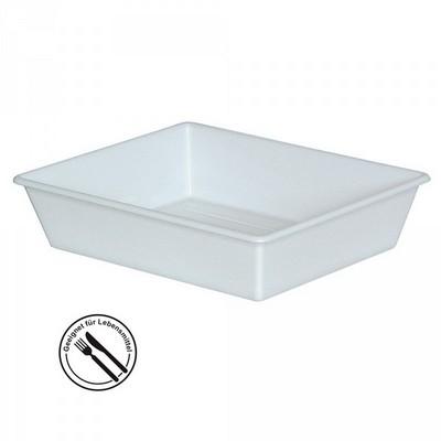 Kunststoffwanne LxBxH 840/715 x 645/520 x 155 mm, 26,5 Liter, weiß