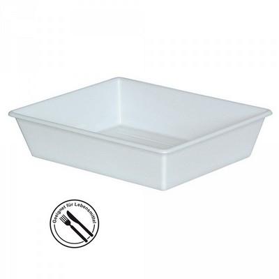 Kunststoffwanne LxBxH 510/425 x 415/325 x 115 mm, 6,2 Liter, weiß