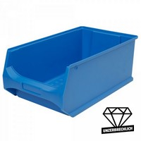 Sichtbox Profi LB2, PP-Kunststoff, Inhalt 21 Liter, Farbe: blau