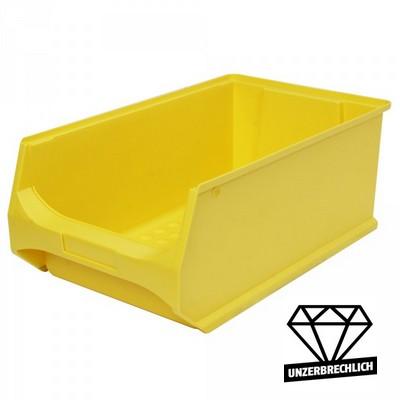 Sichtbox Profi LB2, PP-Kunststoff, Inhalt 21 Liter, Farbe: gelb