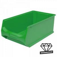Sichtbox Profi LB2, PP-Kunststoff, Inhalt 21 Liter, Farbe: grün