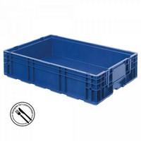 VDA R-KLT 6415 LxBxH 600 x 400 x 147,5 mm - Boden und Wände geschlossen, blau