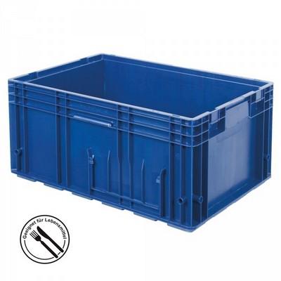 VDA R-KLT 6429 LxBxH 600 x 400 x 280 mm - Boden und Wände geschlossen, blau