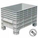 Volumenbox, stapelbar, Boden/Wände geschl. 276 Liter Inhalt, LxBxH 935 x ..