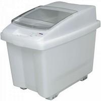 Zutatencontainer mit Deckel, Inhalt 100 Liter - BxTxH 465 x 705 x 580 mm, Polypropylen-Kunststoff (PP), fahrbar
