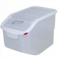 Zutatencontainer mit Deckel, Inhalt 50 Liter - BxTxH 340x565x400 mm, Polypropylen-Kunststoff (PP)