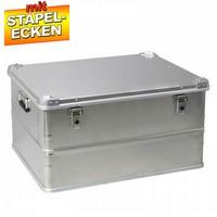 Alubox 157 Liter, mit Stapelecken, LxBxH 790 x 585 x 415 mm
