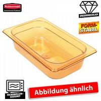 GN Schale 1/4, Inhalt 2,4 Liter, LxBxH 265 x 162 x100 mm, Ultem-Kunststoff, bernsteinfarben