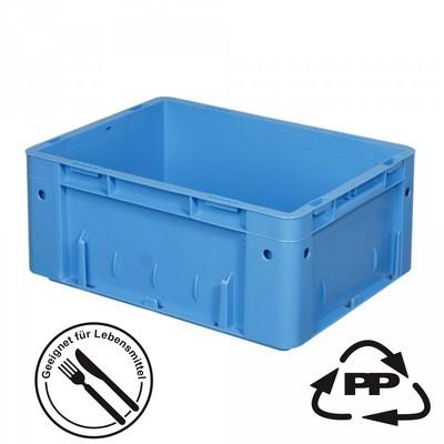 KLT 400 x 300 x 175 mm, rollenbahntauglich, blau