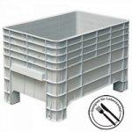 Volumenbox mit 4 Füßen, 276 Liter, Innenmaß LxBxH 935 x ..