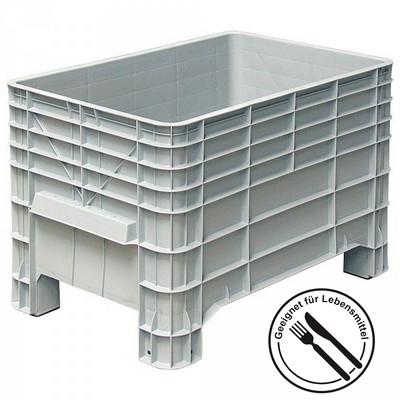 Volumenbox mit 4 Füßen, 276 Liter, Innenmaß LxBxH 935 x 580 x 515 mm
