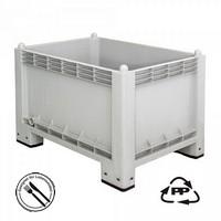 Volumenbox, geschlossen, 1000 x 700 x 790 mm, 300 Liter, Ausf. mit 4 Füßen