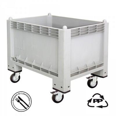 Volumenbox, geschlossen, 1000 x 700 x 790 mm, 300 Liter, 4 Lenkrollen