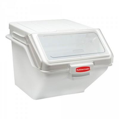 Zutatenbehälter / Vorratsbehälter mit transparentem Deckel, für 33 kg Mehl oder 47 kg Zucker + Portionierschaufel gratis