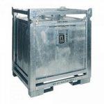 ASF-Behälter 800 Liter, einwandig, UN-Zulassung, für passive Lagerung erlaubt