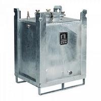 ASF-Behälter, 800 Liter, doppelwandig, für passive Lagerung erlaubt