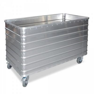Alu-Kastenwagen, Inhalt 560 Liter, LxBxH 1280 x 680 x 870 mm, Tragkraft 250 kg