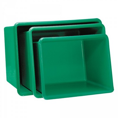 GFK-Behälter, 100 Liter, LxBxH 880 x 580 x 290 mm, grün